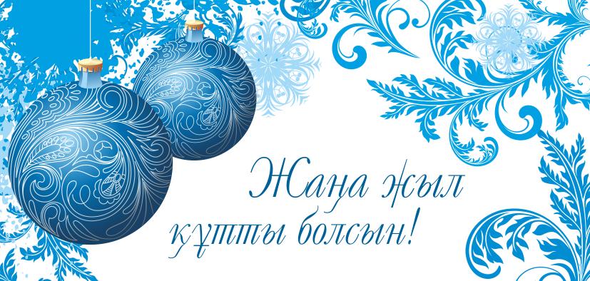 Жаңа жыл құтты болсын! C Новым Годом!
