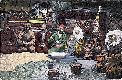 Ф. Ц. «Воспоминания о Киргизской степи», 1854 год.