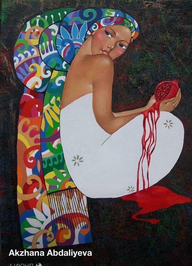 10 современных художников Казахстана