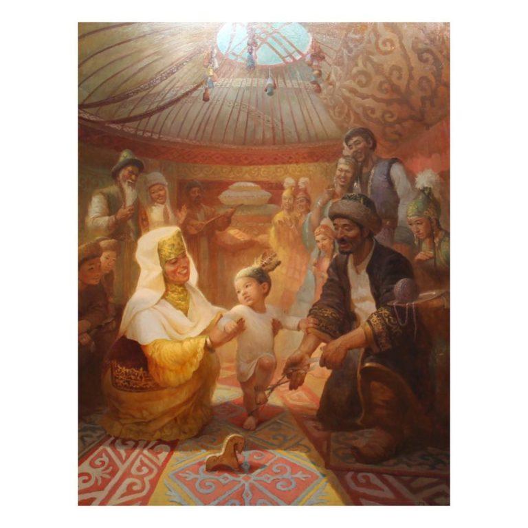 Тусау кесер у казахов-  разрезание пут
