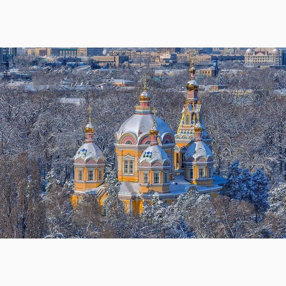 7 января- Православное Рождество в Казахстане.