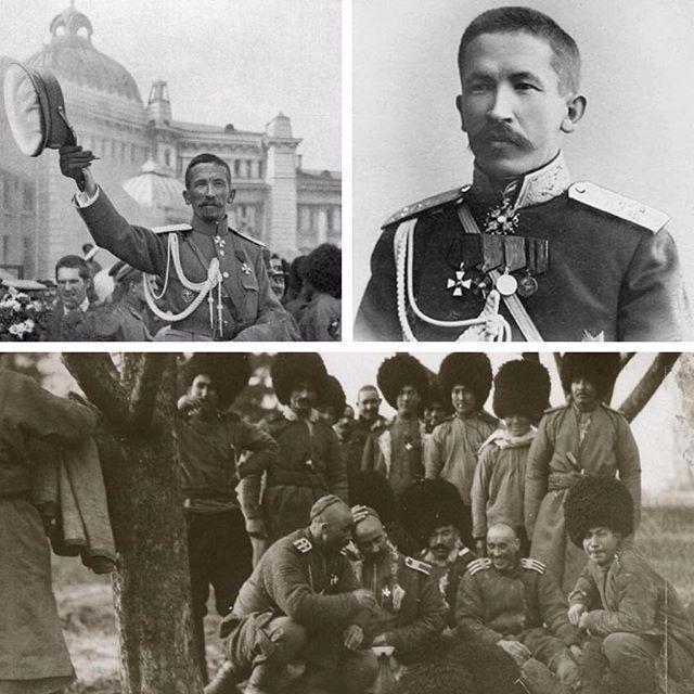 Лавр Корнилов и его телохранители текинцы