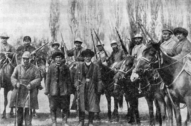 Бой Казахско- Туркменских басмачей Ходжа Су