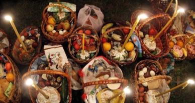 Пасха 2019: что положить в корзину и когда святить куличи